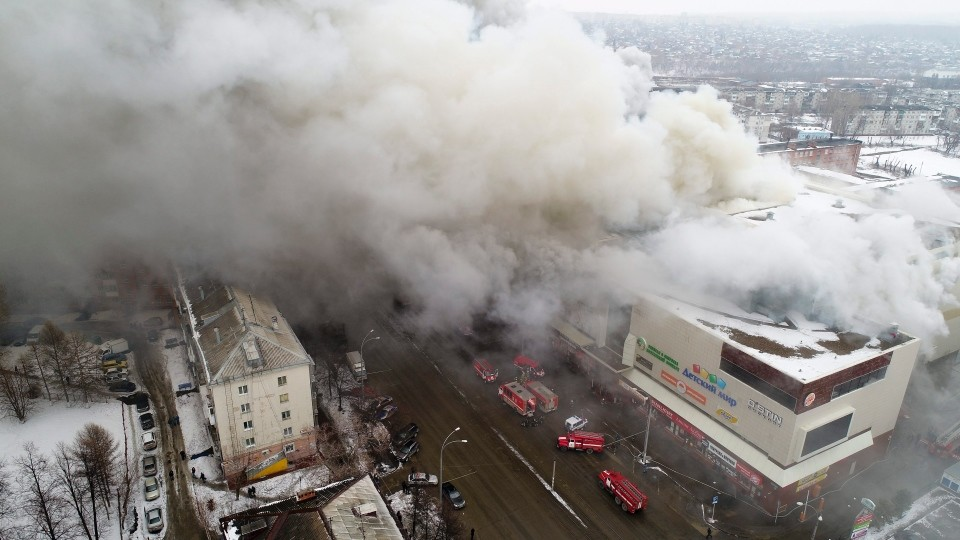 Russia mall fire reflect the problem