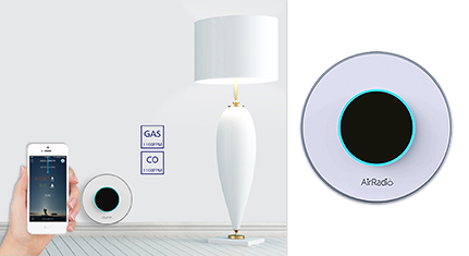 R1 Smart Home Gas And CO Alarm